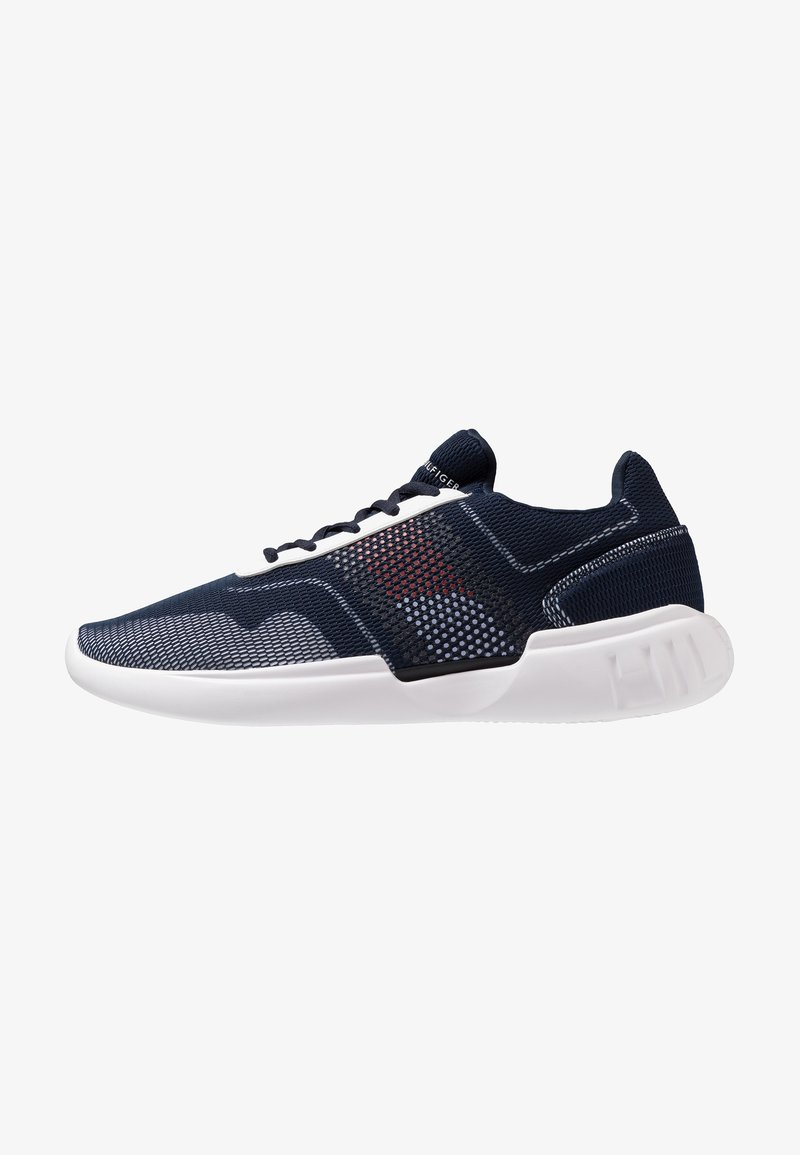 Tommy Hilfiger - CORPORATE UNDERLAY RUNNER - Sneaker low - blue