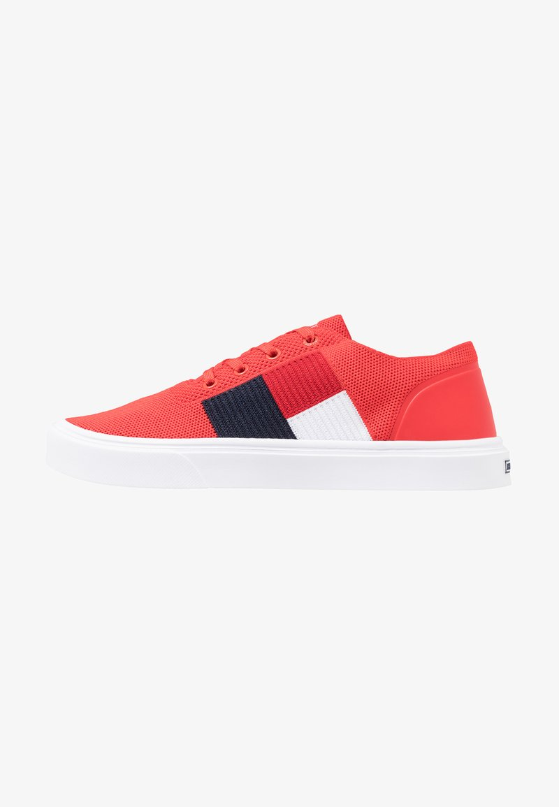 Tommy Hilfiger - LIGHTWEIGHT FLAG - Sneakers - red