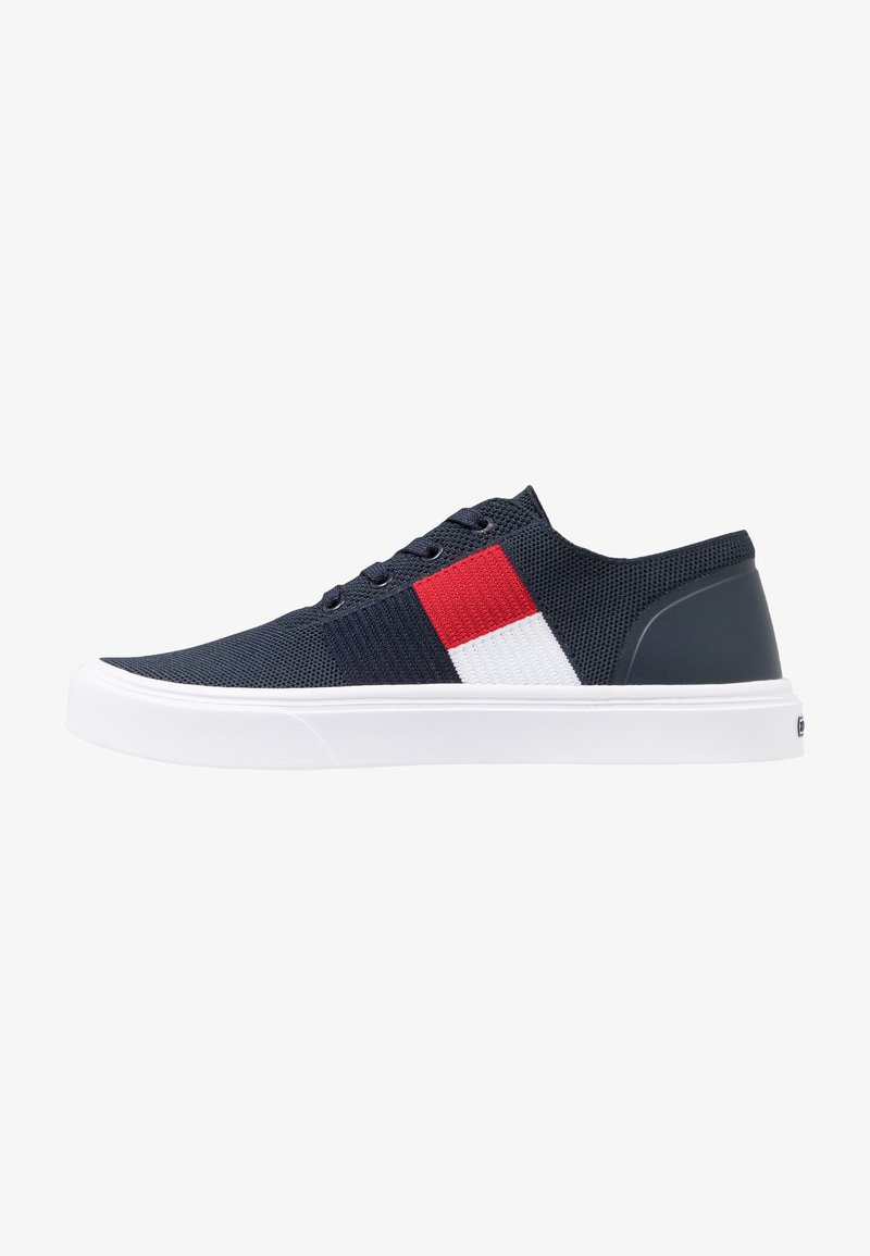 Tommy Hilfiger - LIGHTWEIGHT FLAG - Sneakers laag - blue