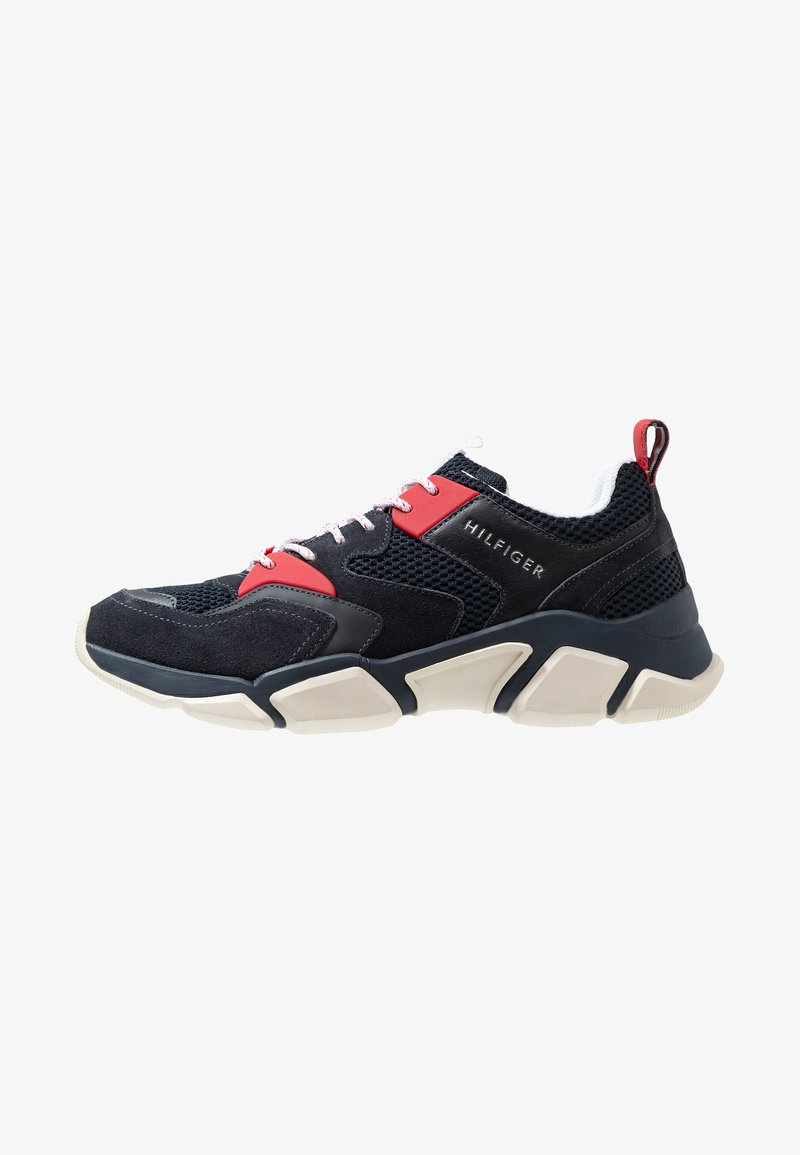 Tommy Hilfiger - CHUNKY TRAINER - Sneakers - red
