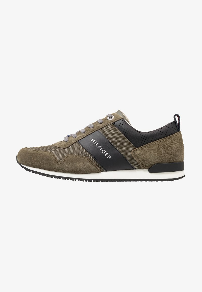 Tommy Hilfiger - ICONIC MIX RUNNER - Sneakers laag - green