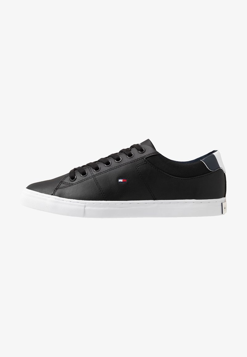 Tommy Hilfiger - ESSENTIAL COLLAR  - Sneaker low - black