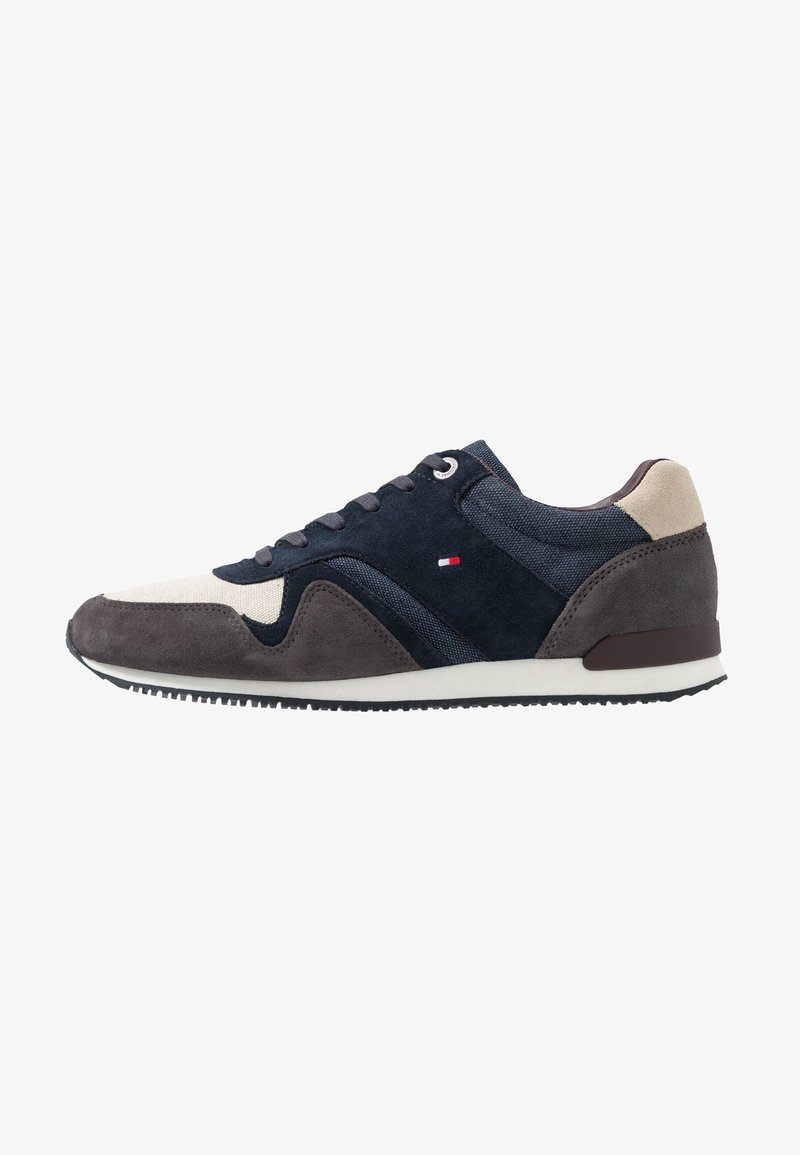 Tommy Hilfiger - ICONIC MIX RUNNER - Sneakers - blue