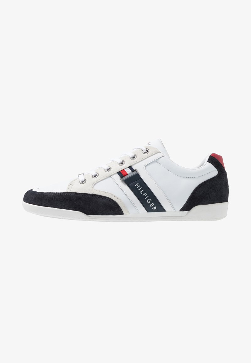 Tommy Hilfiger - CORPORATE MIX CUPSOLE - Matalavartiset tennarit - red