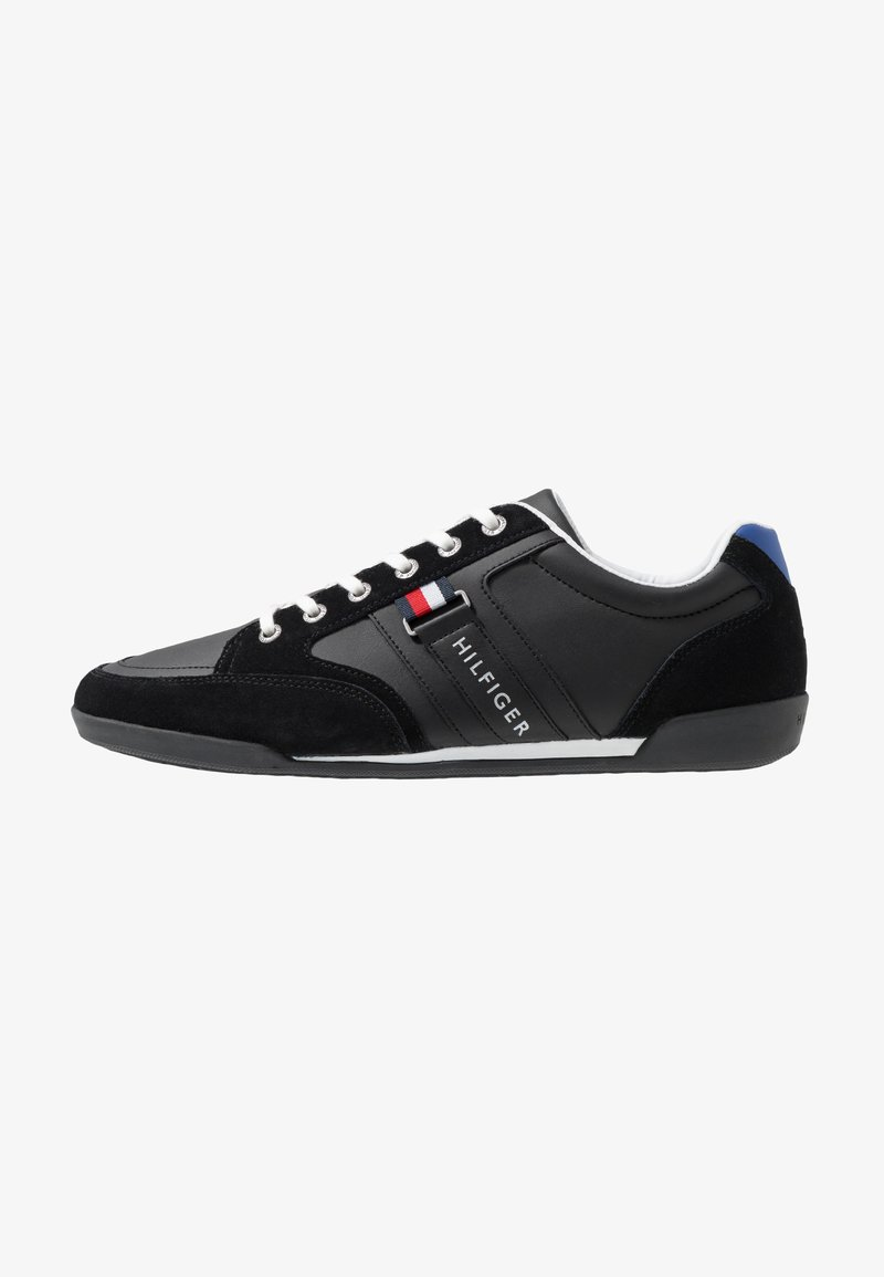 Tommy Hilfiger - CORPORATE MIX CUPSOLE - Sneaker low - black