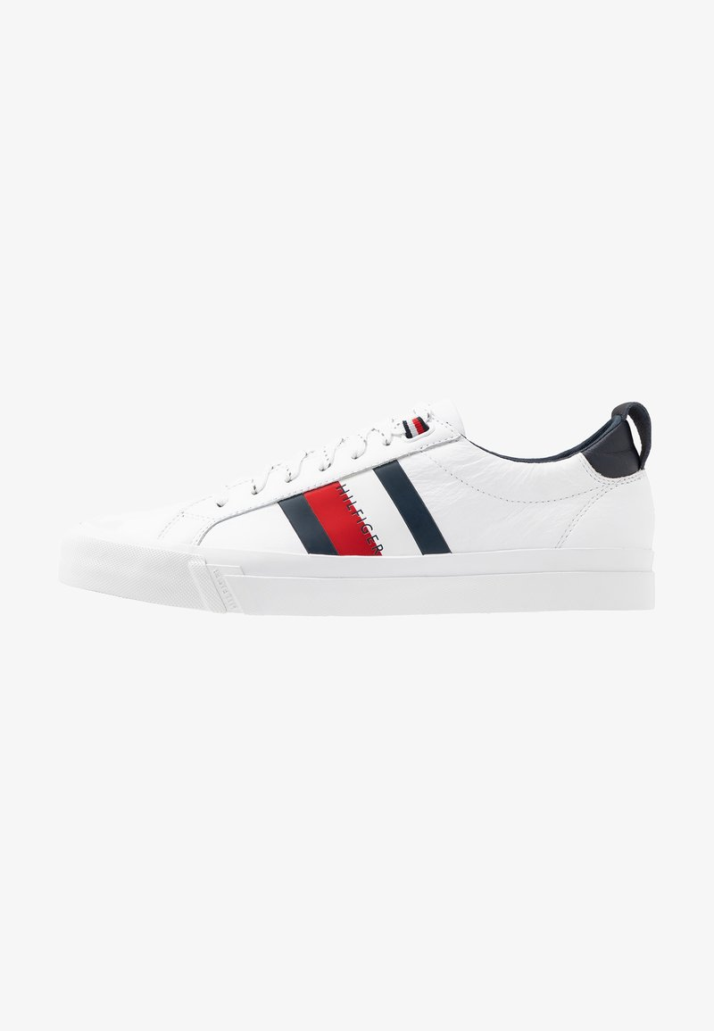 Tommy Hilfiger - FLAG DETAIL - Sneakers - white