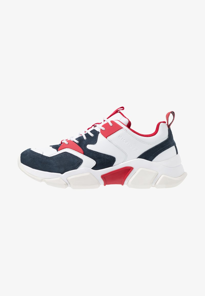 Tommy Hilfiger - CHUNKY MIX  - Sneakers laag - red