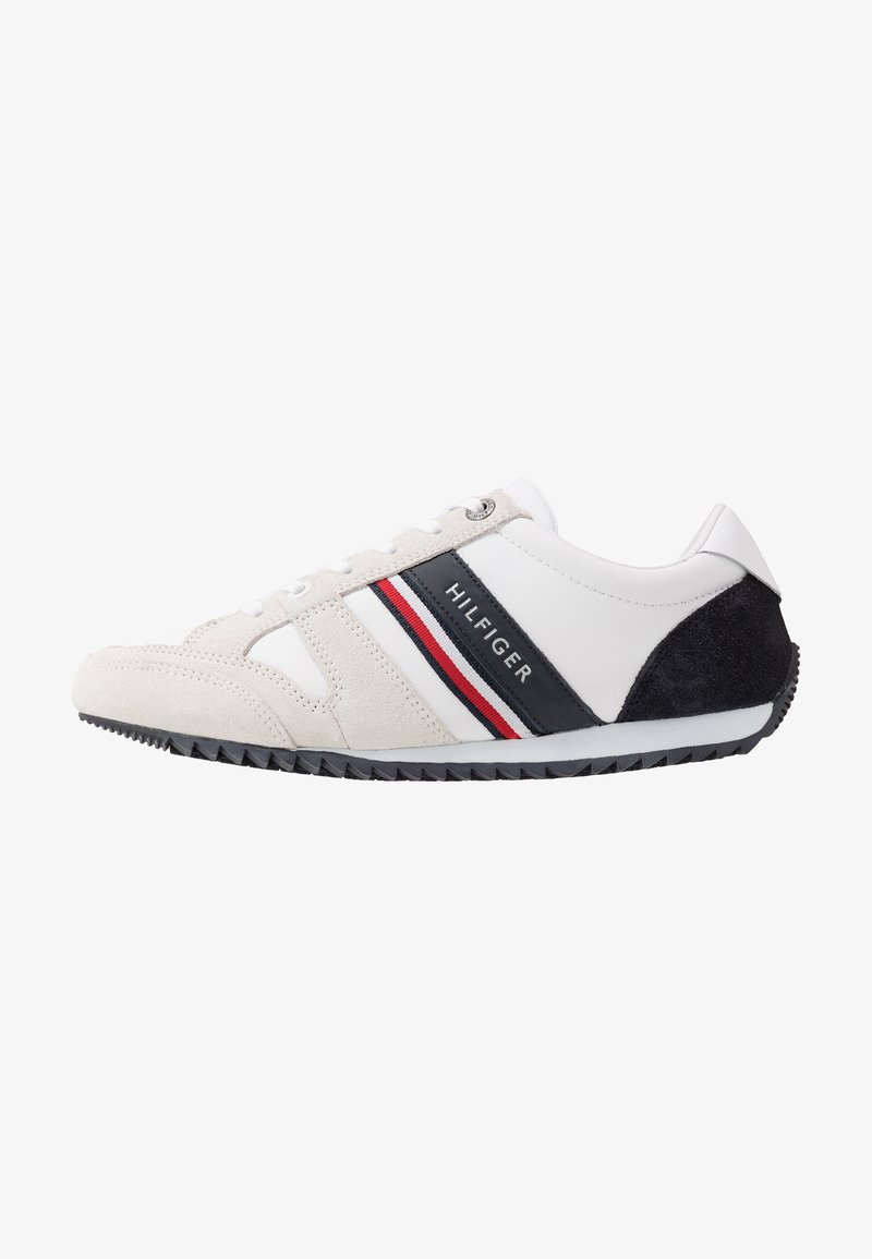 Tommy Hilfiger - ESSENTIAL RUNNER - Sneakers basse - red/white/black