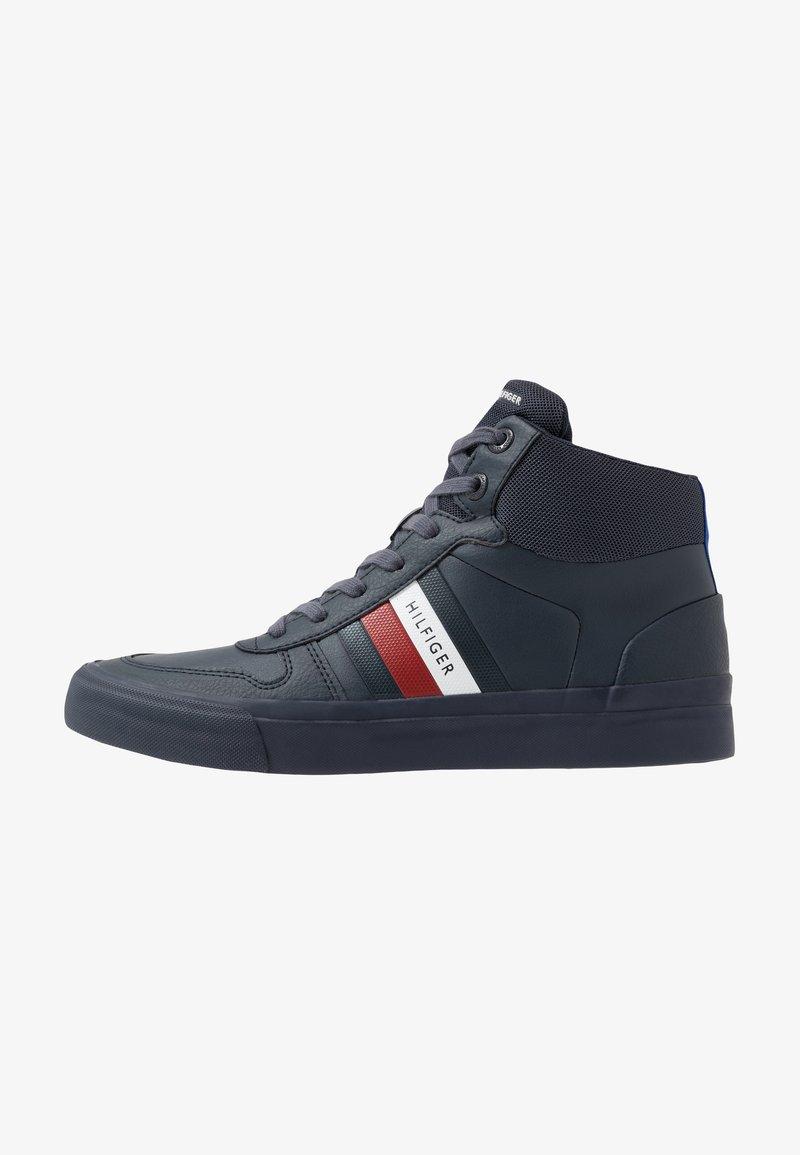 Tommy Hilfiger - CORE CORPORATE MODERN - Sneaker high - blue
