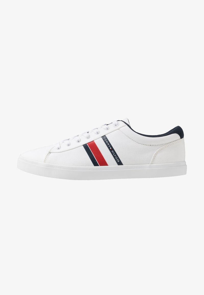 Tommy Hilfiger - ESSENTIAL STRIPES DETAIL - Sneakers basse - white