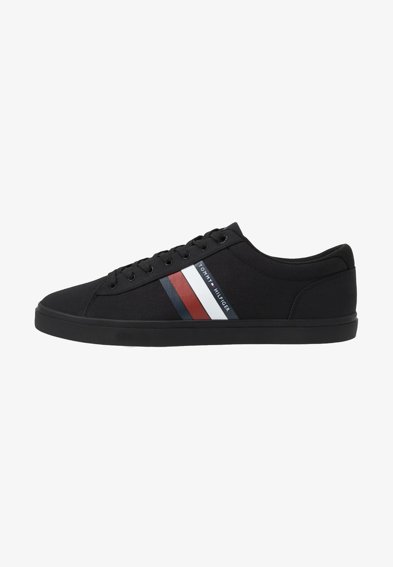 Tommy Hilfiger - ESSENTIAL STRIPES DETAIL - Sneakers basse - black