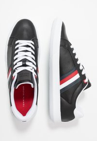 Tommy Hilfiger - ESSENTIAL CUPSOLE - Trainers - black - 1