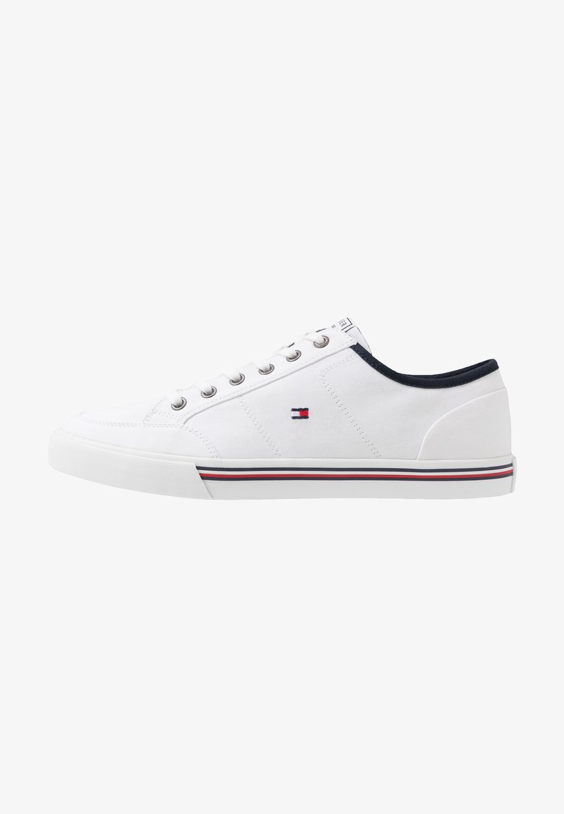 Tommy Hilfiger - CORE CORPORATE - Sneakers laag - white