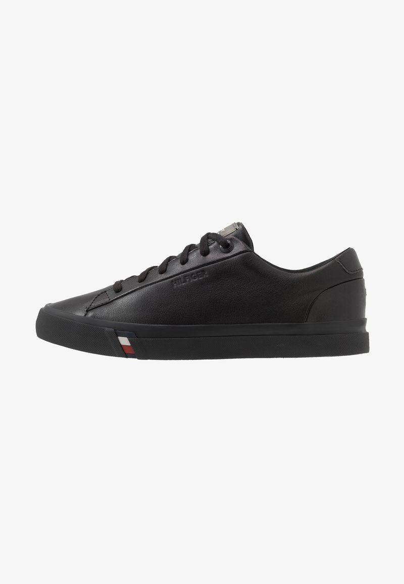 Tommy Hilfiger - CORPORATE - Sneakers laag - black