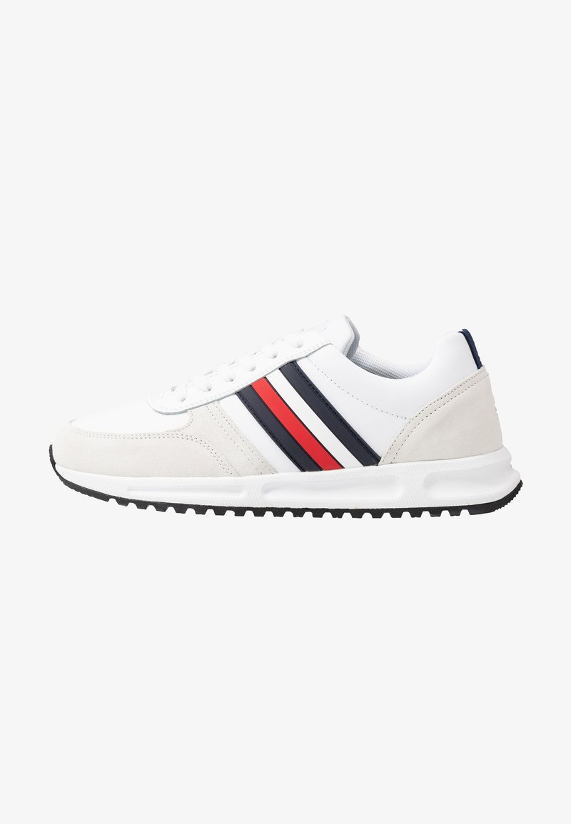 Tommy Hilfiger - MODERN CORPORATE RUNNER - Trainers - white