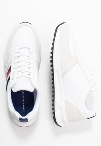 Tommy Hilfiger - MODERN CORPORATE RUNNER - Trainers - white - 1