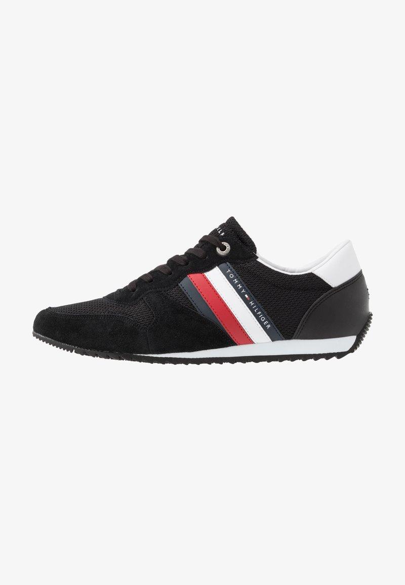 Tommy Hilfiger - ESSENTIAL RUNNER - Sneakersy niskie - black
