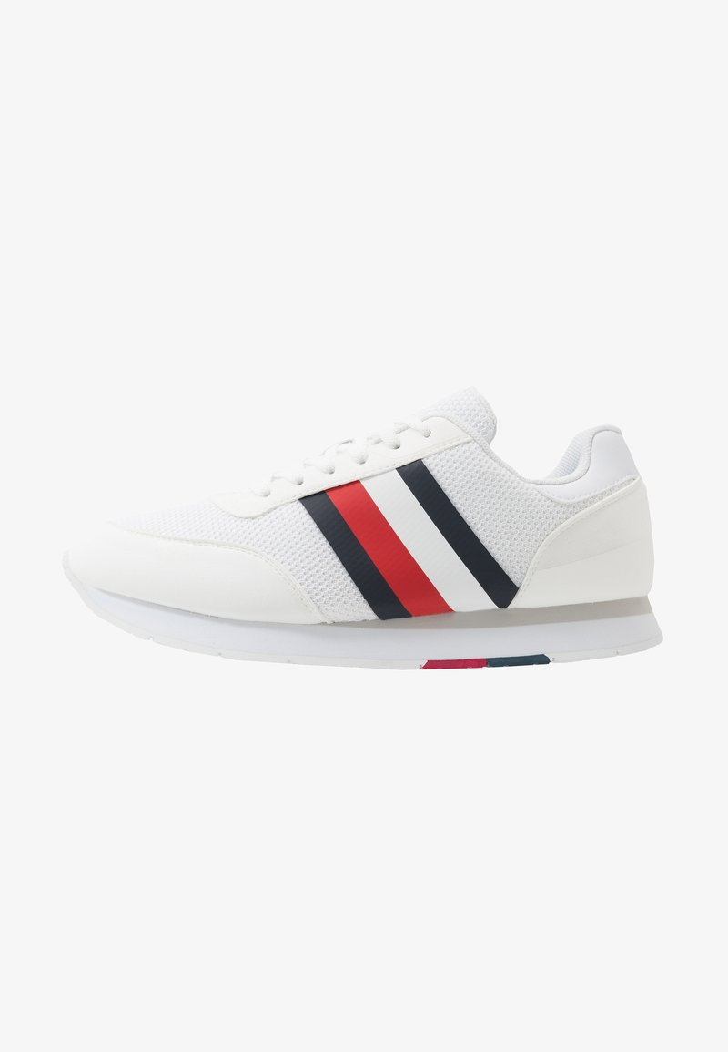 Tommy Hilfiger - CORPORATE RUNNER - Sneakersy niskie - white