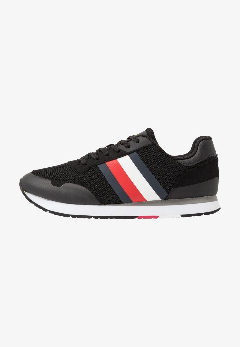 Tommy Hilfiger - CORPORATE RUNNER - Sneakersy niskie - black