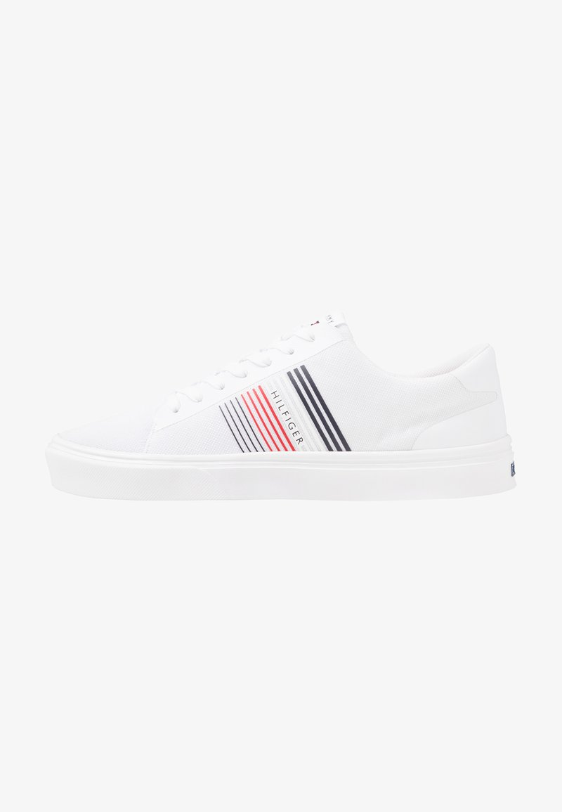 Tommy Hilfiger - LIGHTWEIGHT STRIPES - Sneakers basse - white