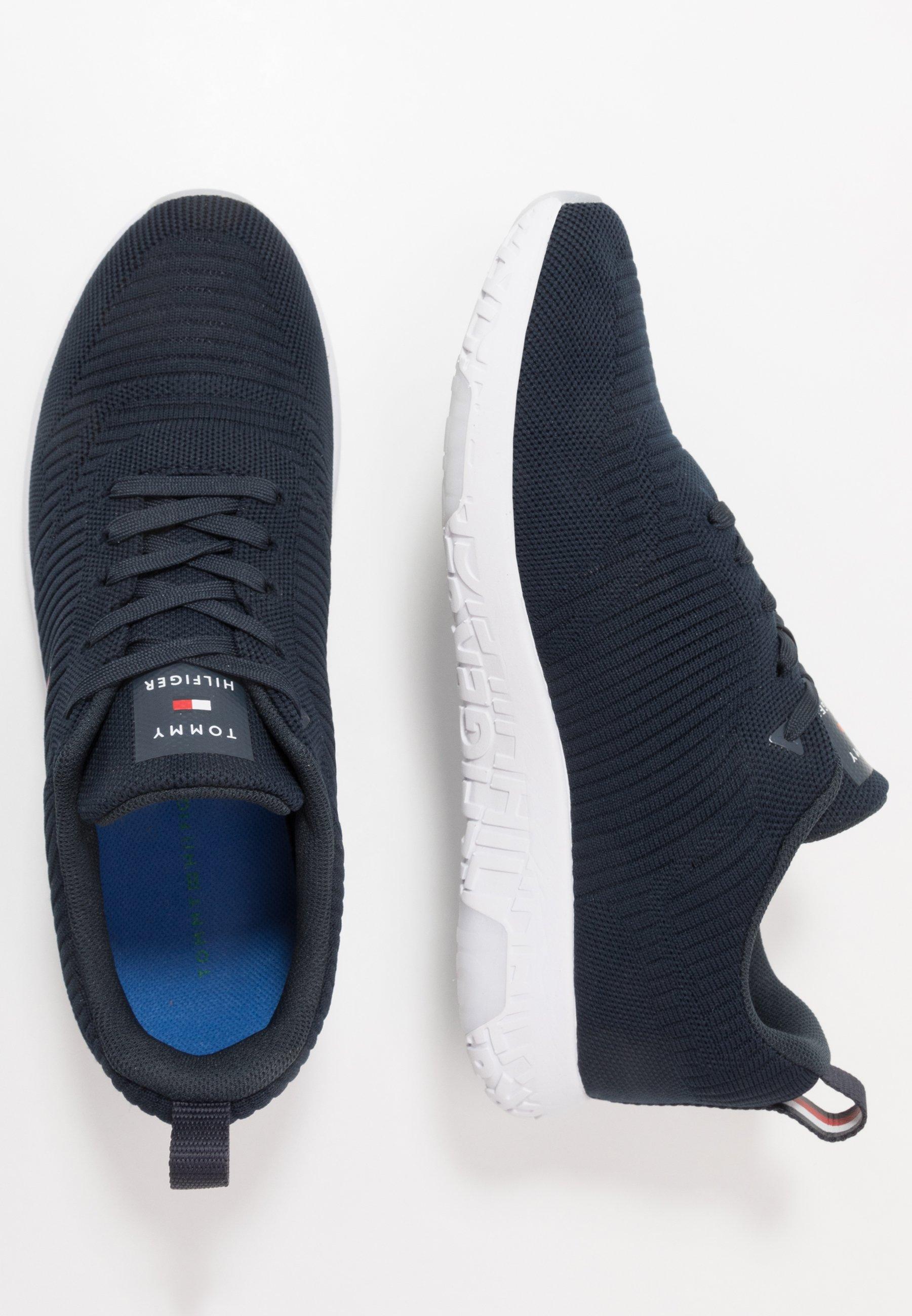 Tommy Hilfiger CORPORATE RUNNER - Sneakers basse - blue