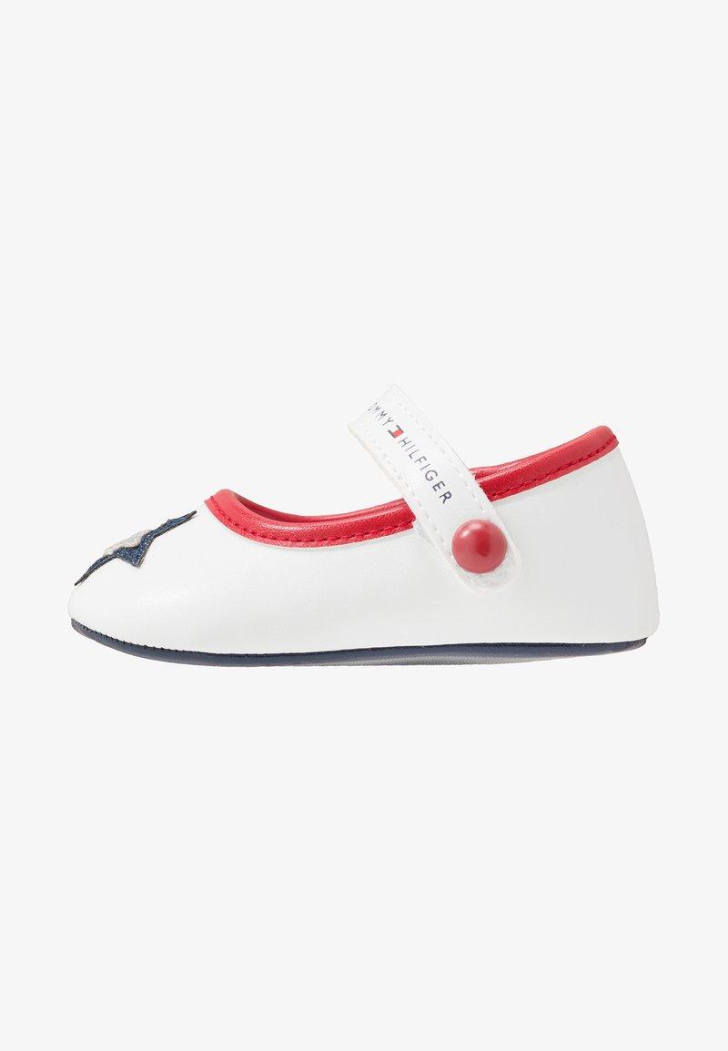 Tommy Hilfiger - Chaussons pour bébé - white/blue/red