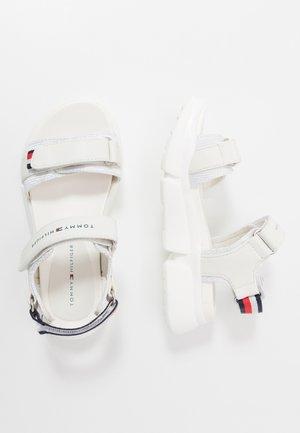 Riemensandalette - white