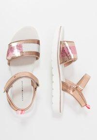Tommy Hilfiger - Sandals - rose gold - 0