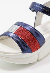 Tommy Hilfiger - Sandals - blue/silver/red - 2