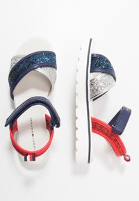 Tommy Hilfiger - Sandals - silver/blue/red - 0