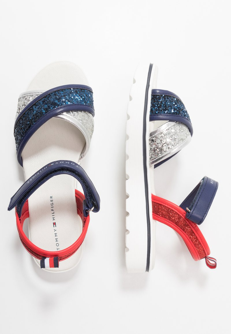 Tommy Hilfiger - Sandals - silver/blue/red
