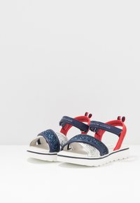 Tommy Hilfiger - Sandals - silver/blue/red - 3