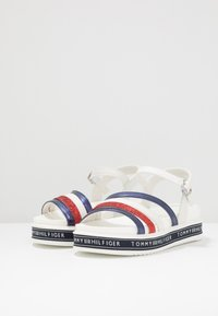 Tommy Hilfiger - Sandály - blue/red/white - 3