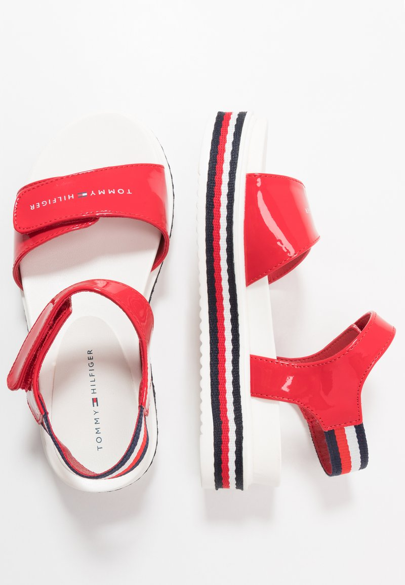 Tommy Hilfiger - Sandalen - red