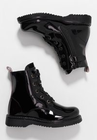 Tommy Hilfiger - BOOT - Lace-up ankle boots - black - 0