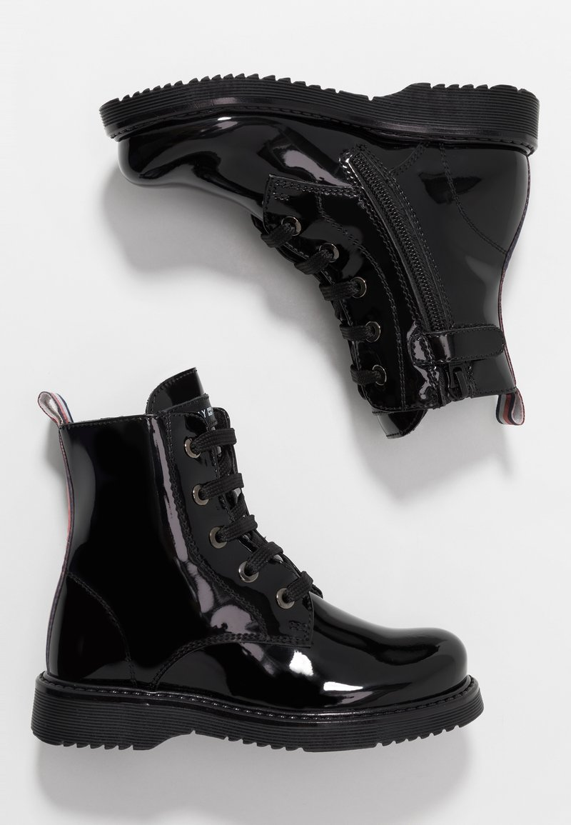 Tommy Hilfiger - BOOT - Lace-up ankle boots - black