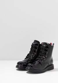 Tommy Hilfiger - BOOT - Lace-up ankle boots - black - 3