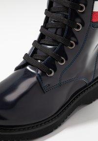 Tommy Hilfiger - Šněrovací kotníkové boty - blue - 5