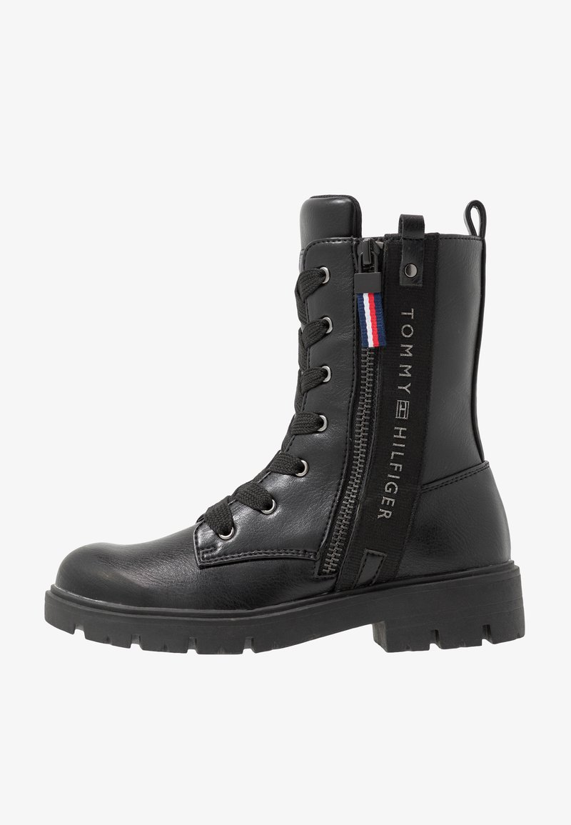 Tommy Hilfiger - Lace-up boots - black