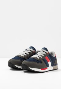 Tommy Hilfiger - Sneakers laag - grey/blue - 3