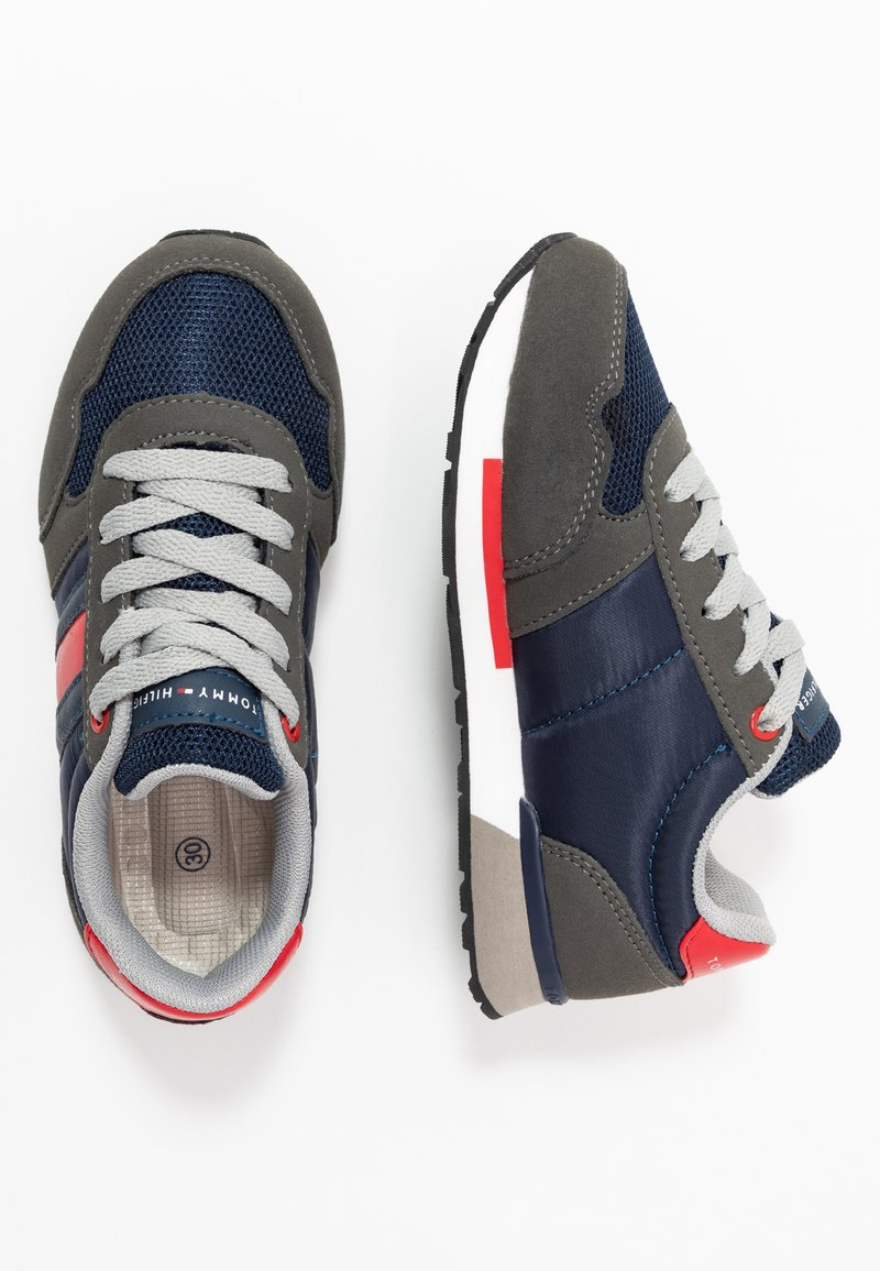 Tommy Hilfiger - Sneakers laag - grey/blue