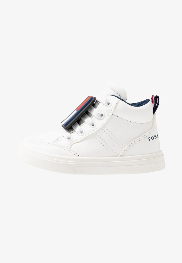 High-top trainers - white