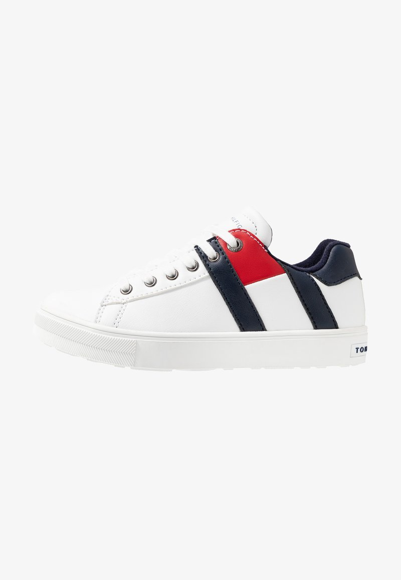 Tommy Hilfiger - Matalavartiset tennarit - white/blue