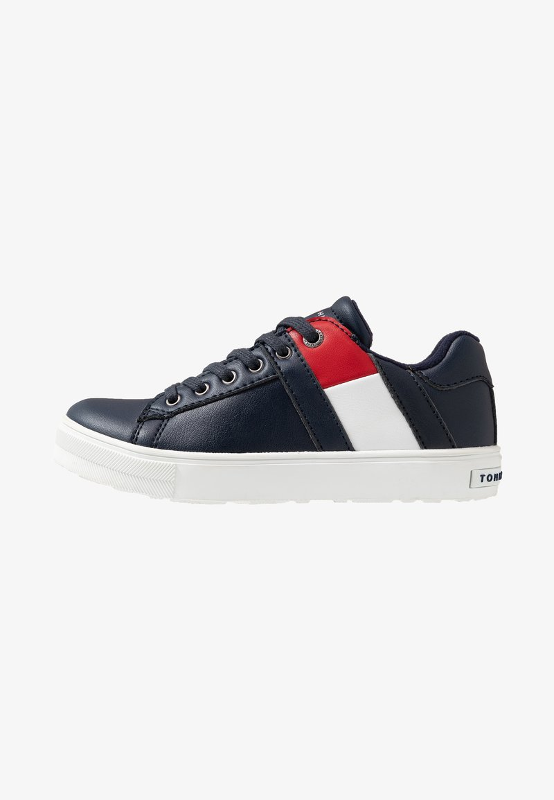 Tommy Hilfiger - Matalavartiset tennarit - blue
