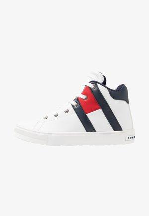 Höga sneakers - white/blue