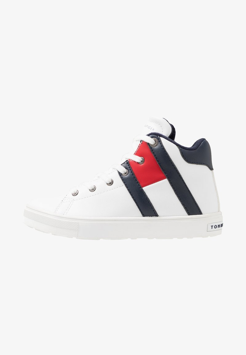 Tommy Hilfiger - Sneakersy wysokie - white/blue