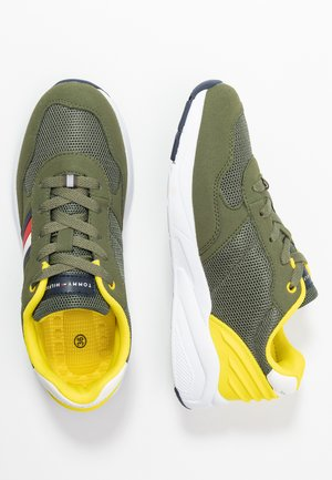 Trainers - military green