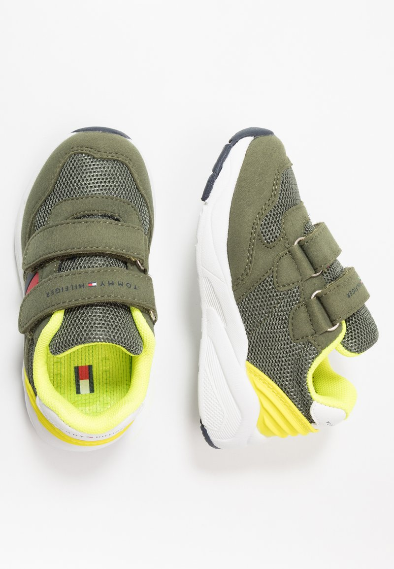 Tommy Hilfiger - Sneakers laag - military green