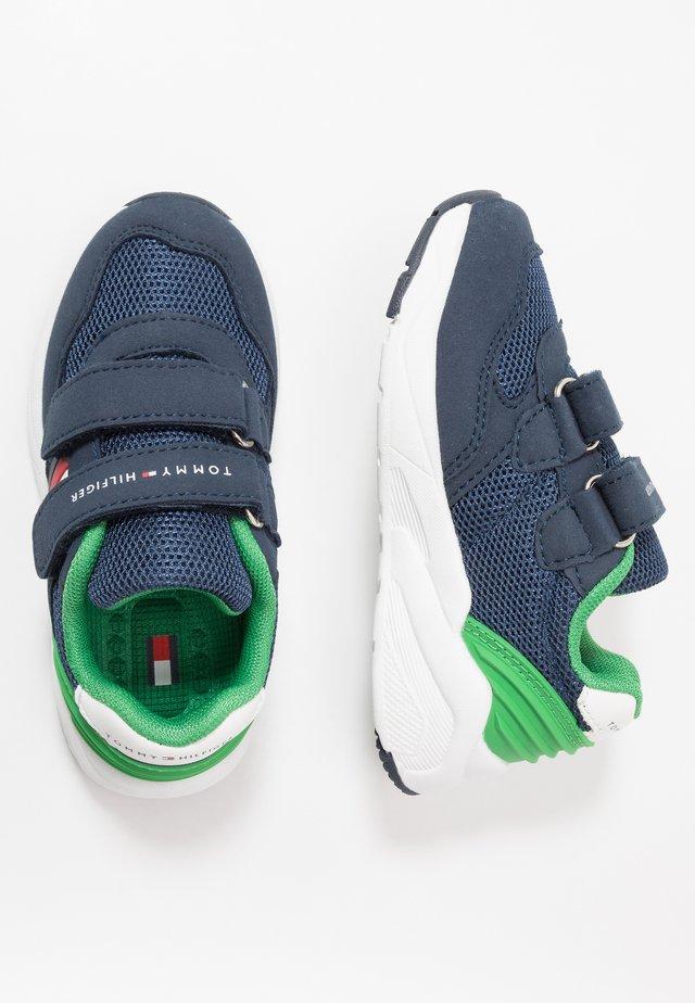 Sneakersy niskie - blue/green