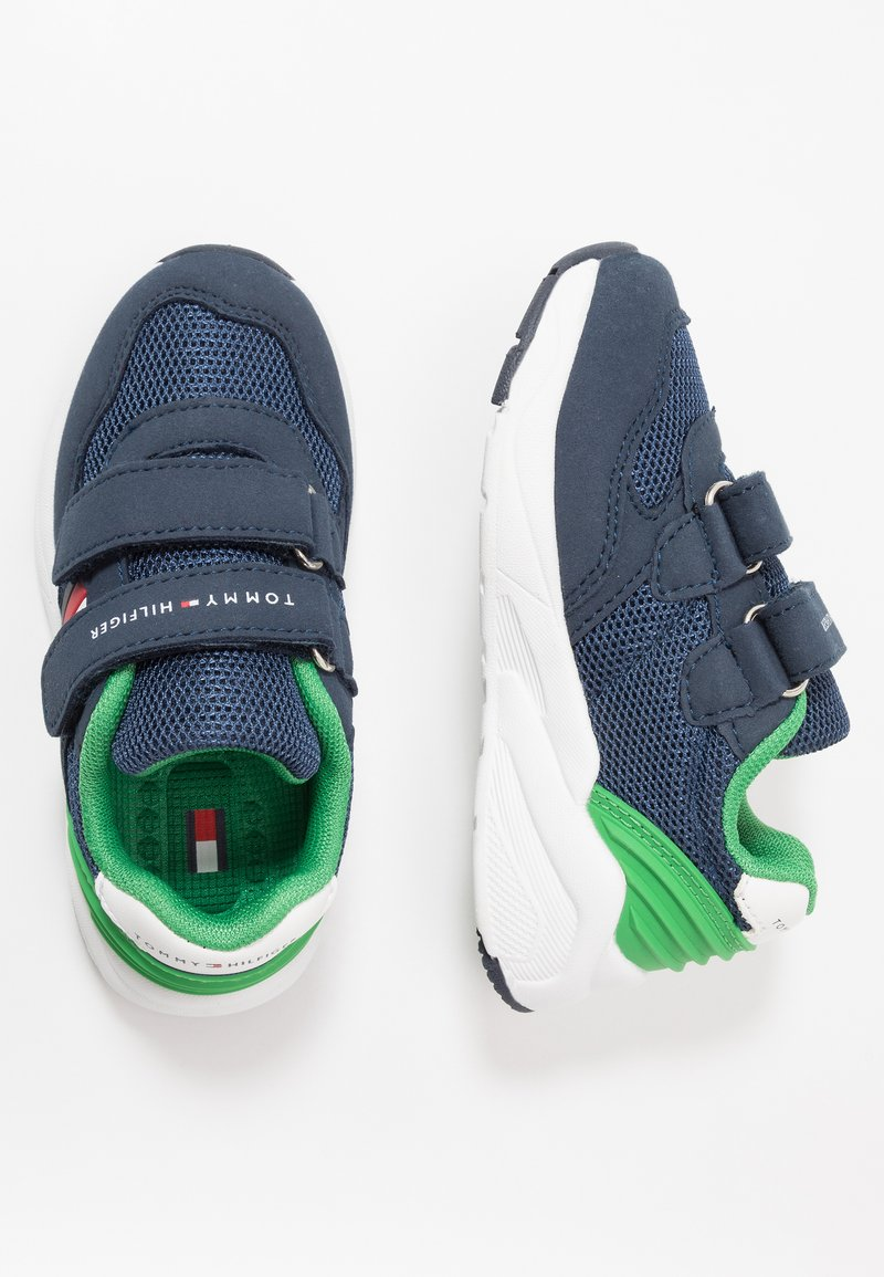 Tommy Hilfiger - Sneakers laag - blue/green